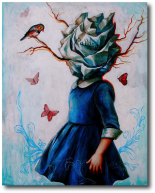 "Invitation To Fly Nonie Cruzado, 2015 16"" x 20"""